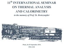 11th International Seminar on Thermal Analysis and Calorimetry